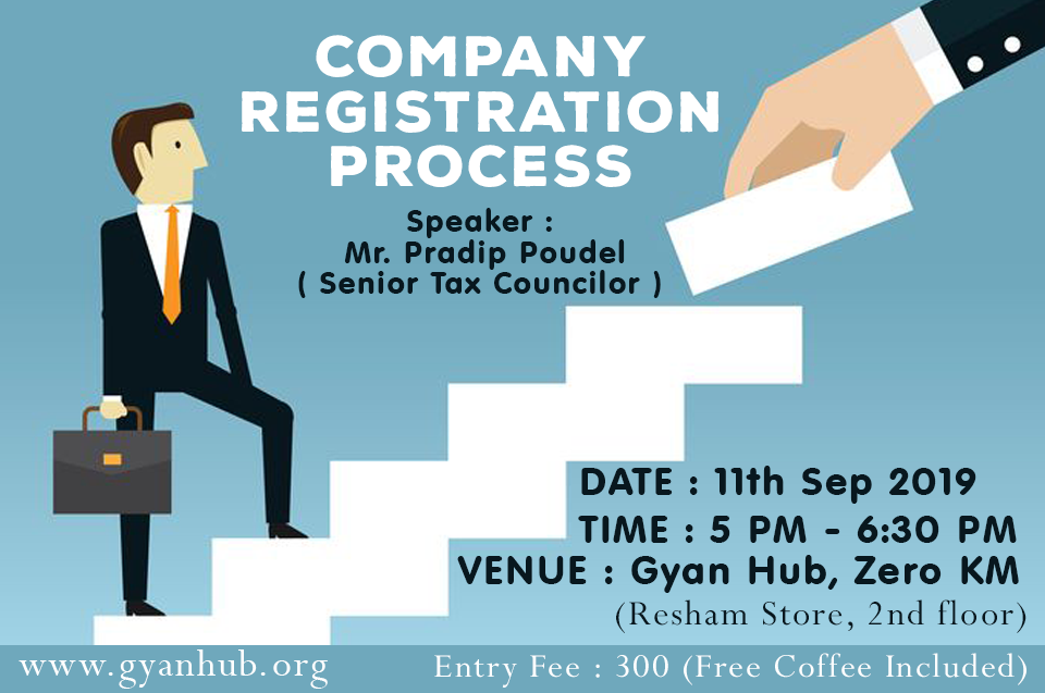 Company Registration Process Event