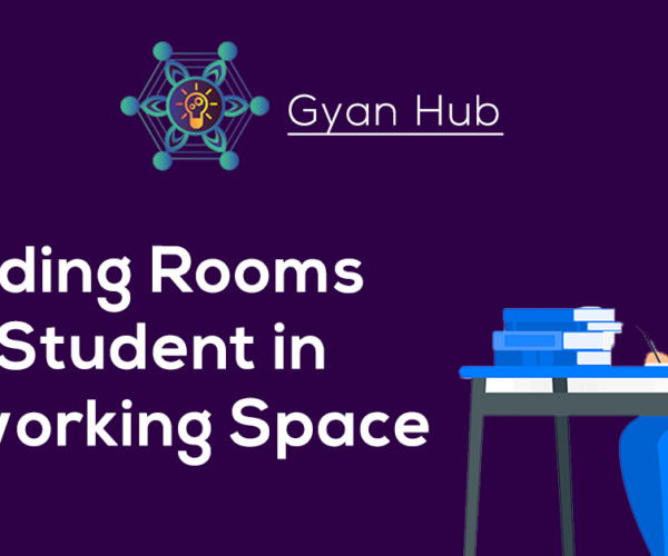 Reading rooms for students in co-working space